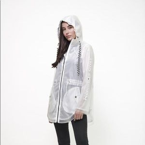 Members Only Transparent Rain Jacket